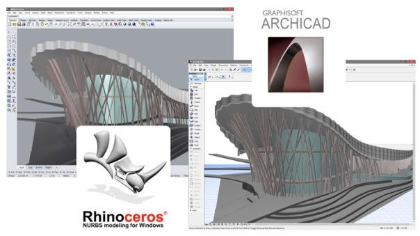 ARCHICAD 19 med integration til Rhino